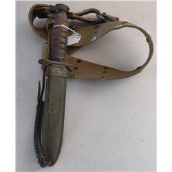 M81A US Bayonet w/Sheath + Belt