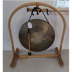 Chinese Brass Gong