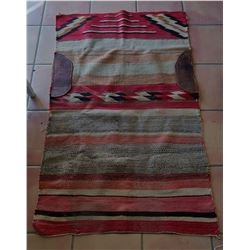 Old Navajo Saddle Blanket