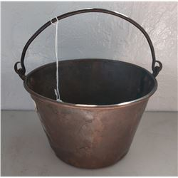 Brass Trade Bucket