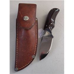 Custom Fixed Blade Knife w/Scabbard