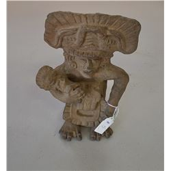 Zapotec Clay Figure