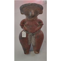 Large Pre-Columbian Figure on Stand