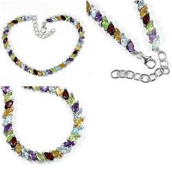 Natural Gemstone Bracelet