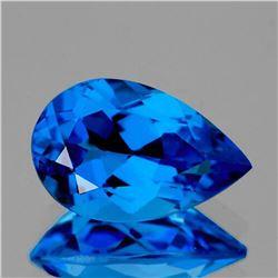 NATURAL AAA Electric SWISS BLUE TOPAZ 16x10.50 MM