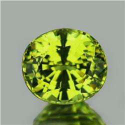 Natural AAA Canary Yellow Apatite 4.70 Cts - VVS