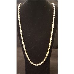 AWESOME 14 Kt. GOLD PLATED ROPE CHAIN.