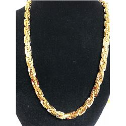 HUGE 100 GRAM 14 KT GOLD PLATED ROPE CHAIN