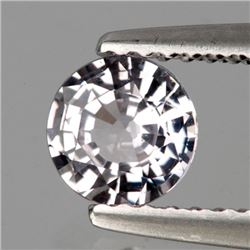 Natural Burma  White Spinel 6.00 MM - Untreated