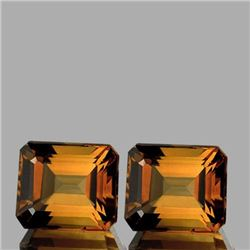 NATURAL CHAMPAGNE IMPERIAL TOPAZ PAIR [IF-VVS]