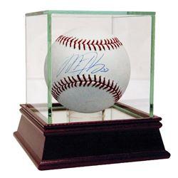 Matt Harvey Signed Baseball with High Quality Display Case (Steiner COA  MLB Hologram)