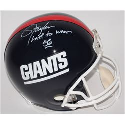 "Lawrence Taylor Signed Giants LE Full-Size Helmet Inscribed ""Last To Wear 56"" (Radtke COA)"