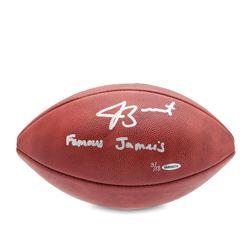 Jameis Winston Signed NFL  The Duke  LE Football Inscribed  Famous Jameis  (UDA COA)