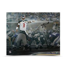 Jameis Winston Signed Buccaneers Signal Caller 16x20 Photo LE of 50 (UDA COA)
