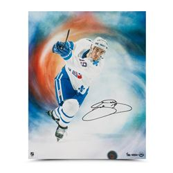 "Joe Sakic Signed Nordiques LE ""Journey"" 16x20 Photo (UDA COA)"