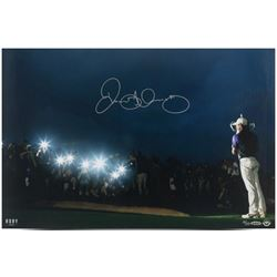 "Rory McIlroy Signed ""Spotlight"" LE 16x24 Photo (UDA COA)"