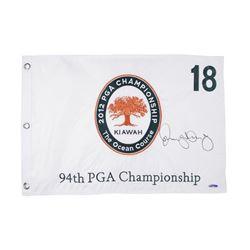 Rory McIlroy Signed 2012 PGA Championship Pin Flag (UDA COA)