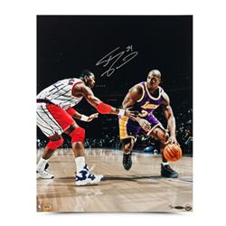 "Shaquille O'Neal Signed Lakers ""Power Move"" LE 16x20 Photo (UDA COA)"