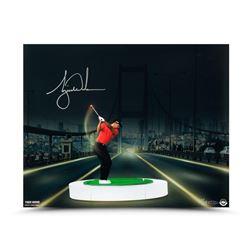 "Tiger Woods Signed ""The Bridge At Night"" LE 16x20 Photo (UDA COA)"