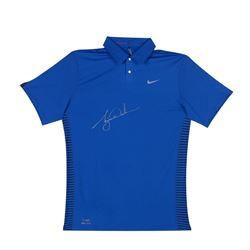 Tiger Woods Signed Nike Performance Graphic Polo Shirt (UDA COA)