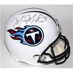 Marcus Mariota Signed Titans Full-Size Helmet (Mariota Hologram)