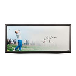 "Jack Nicklaus Signed ""The Drive"" 20x46 Custom Framed Photo (UDA COA)"