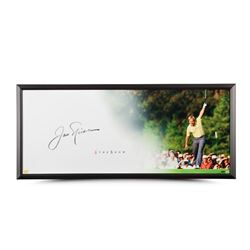 "Jack Nicklaus Signed ""The Putt"" LE 20x46 Custom Framed Photo (UDA COA)"