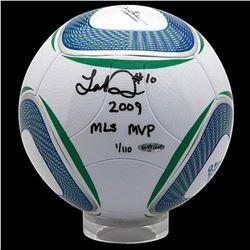 "Landon Donovan Signed MLS Match Soccer Ball Inscribed ""2009 MLS MVP"" LE 110 (UDA COA)"