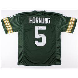 "Paul Hornung Signed Packers Jersey Inscribed ""HOF 86"" (JSA COA)"