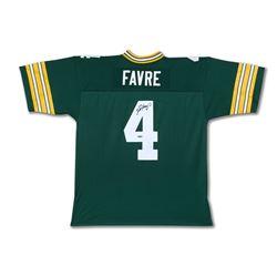 Brett Favre Signed Packers Jersey (UDA COA)