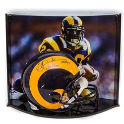 """Eric Dickerson Signed LE Rams Full-Size Authentic Pro-Line Helmet Inscribed """"HOF 99""""  """"2105 YDs"""" Wit"""