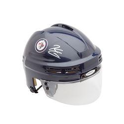 Kyle Connor Signed Jets Mini Helmet (UDA COA)
