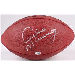 Archie Manning Signed Official NFL Game Ball (Radtke COA)