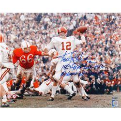 Ken Stabler Signed LE University of Alabama Crimson Tide Sugar Bowl 16x20 Photo With (2) Inscription