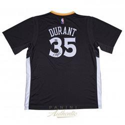 Kevin Durant Signed Warriors Authentic Swingman Jersey (Panini COA)