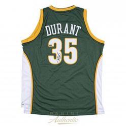 Kevin Durant Signed Supersonics Authentic Swingman Jersey (Panini COA)