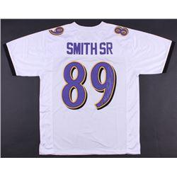 Steve Smith Sr. Signed Ravens Jersey (Smith Hologram)