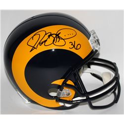 Jerome Bettis Signed Rams Full-Size Helmet (Radtke COA)