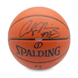 Alonzo Mourning Signed Basketball (UDA COA)