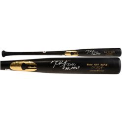 "Kris Bryant Signed Chandler Player Model KB17 Maple Baseball Bat Inscribed ""2016 NL MVP"" (Fanatics H"