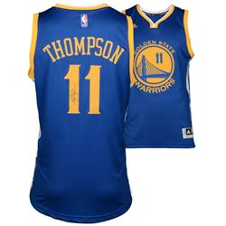 Klay Thompson Signed Warriors Authentic Adidas Swingman Jersey (Fanatics)