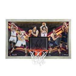"Kevin Love Signed Cavaliers ""All-Around Gamer"" LE 18x30 Custom Framed Backboard Display (UDA COA)"