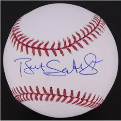 Bret Saberhagen Signed OML Baseball  (MLB Hologram)