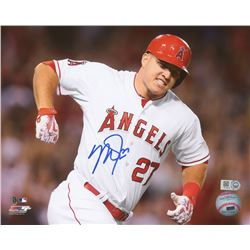 Mike Trout Signed Angels 8x10 Photo (MLB Hologram)