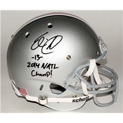"Eli Apple Signed Ohio State Buckeyes Full-Size Helmet Inscribed ""2014 NATL Champ!"" (JSA COA)"