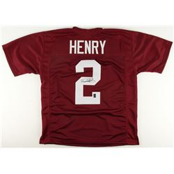 Derrick Henry Signed Alabama Crimson Tide Jersey (Henry Hologram)