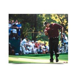 """Tiger Woods Signed """"2000 PGA Championship"""" 20x24 Photo (UDA COA)"""