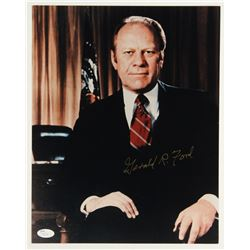Gerald R. Ford Signed 11x14 Photo (JSA COA)