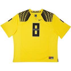 Marcus Mariota Signed LE Oregon Ducks Nike Jersey (UDA COA)