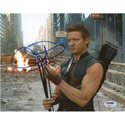 """Jeremy Renner Signed """"Avengers"""" 8x10 Photo (PSA COA)"""